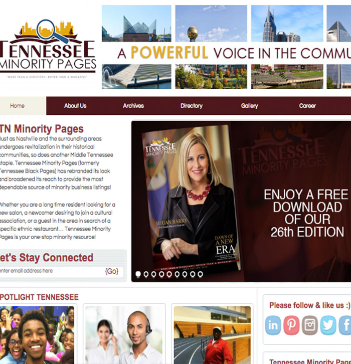 Tennessee Minority Pages